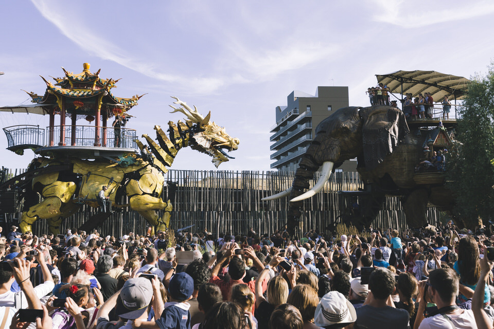 Nantes - Elephant & Long Ma