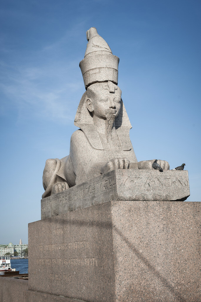 Sankt-Peterbourg 2013 - Sphinx Statue