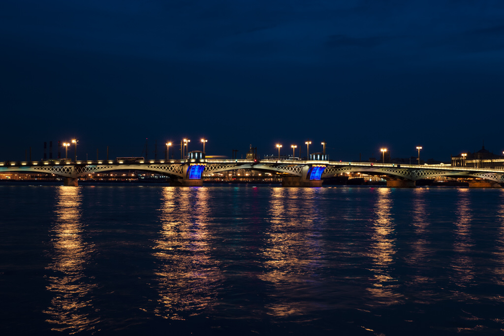Sankt-Peterbourg 2013 - Blagoveshchenskiy bridge
