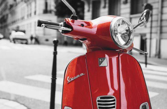 C02 / Rouge Vespa
